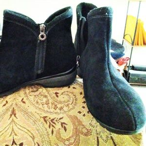 SPORTO Womens TIME AGAIN Suede Leather Bootie 11 W